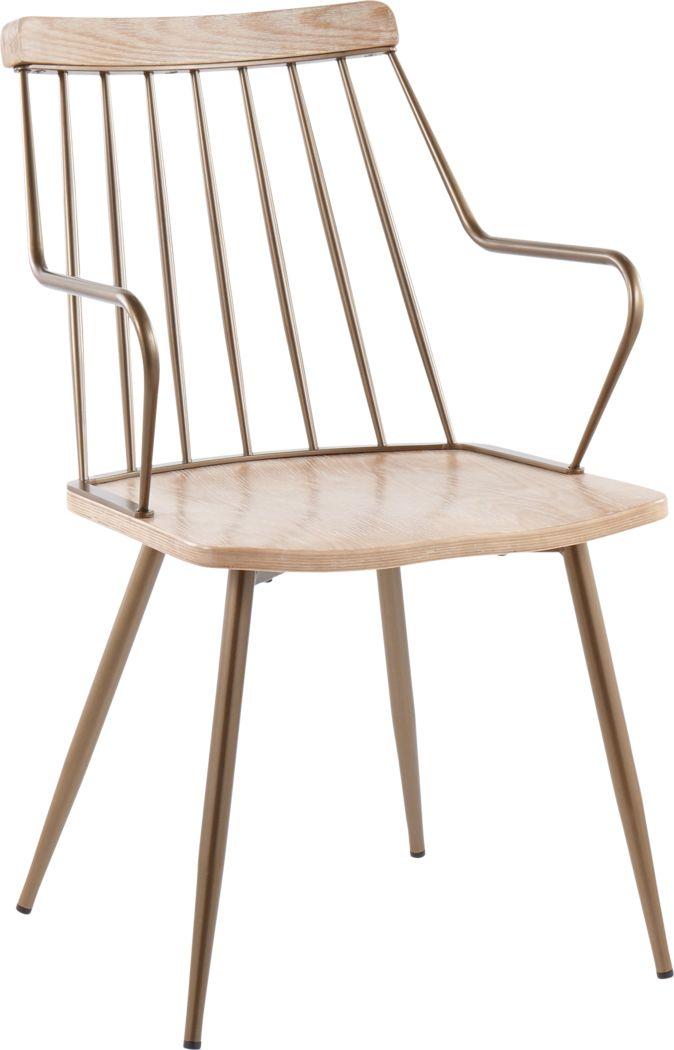 Lyllian White Side Chair