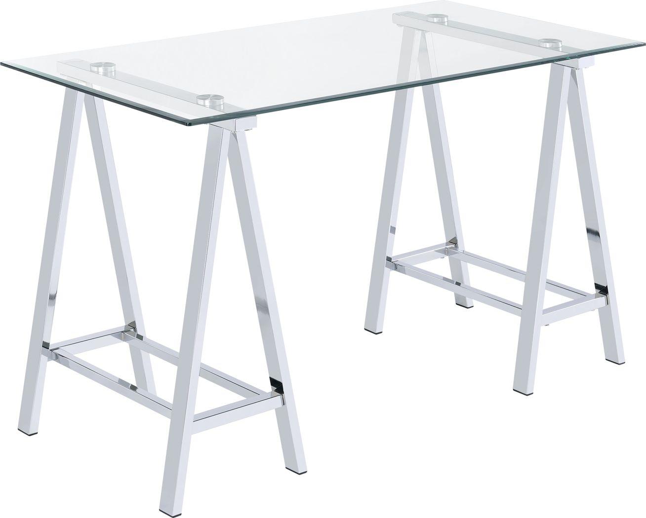 Lymenta Gray Desk