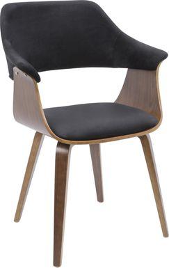 Lyndway Black Dining Chair