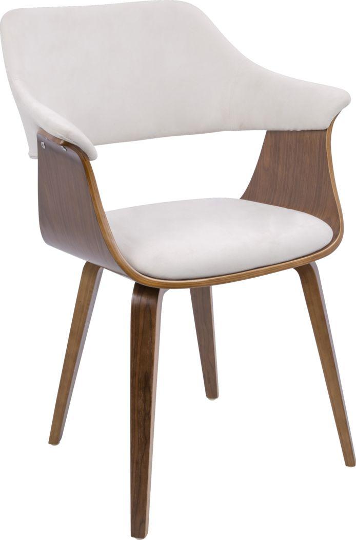 Lyndway Cream Dining Chair
