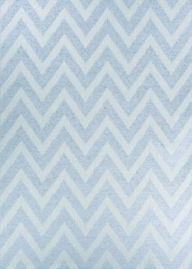 Lynna Blue 5'1 x 7'6 Indoor/Outdoor Rug