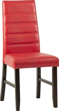Mabry Red Side Chair