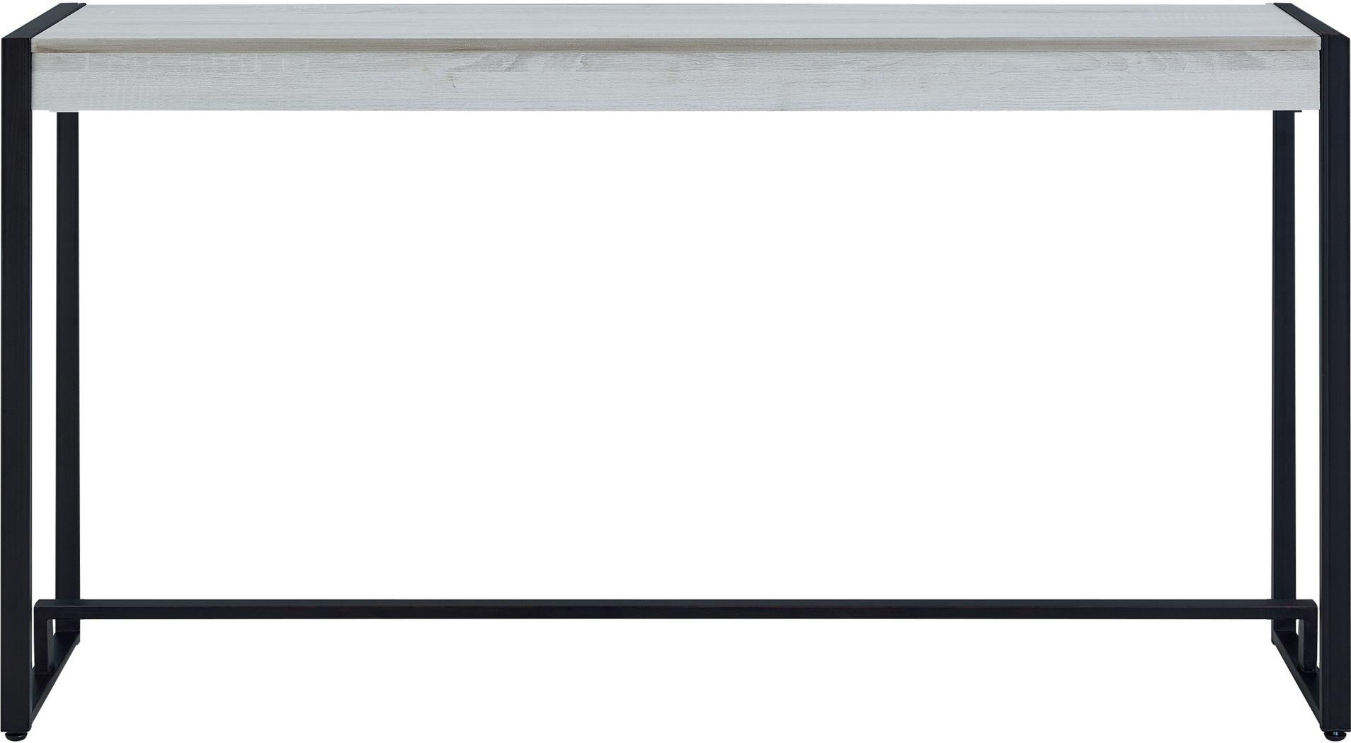 Macen Black Console Table