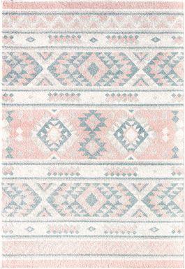 Maelle Pink 8' x 10' Rug