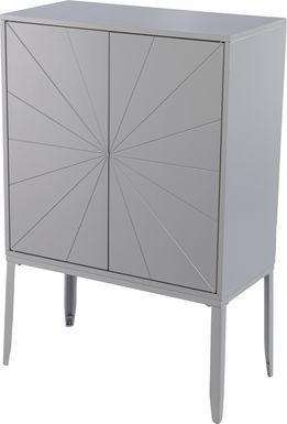 Magellen Gray Accent Cabinet