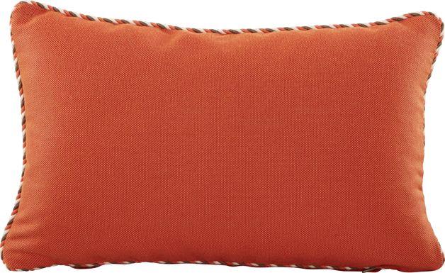 Maggie Mae Orange Indoor/Outdoor Accent Pillow