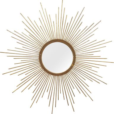 Maidali Gold Mirror