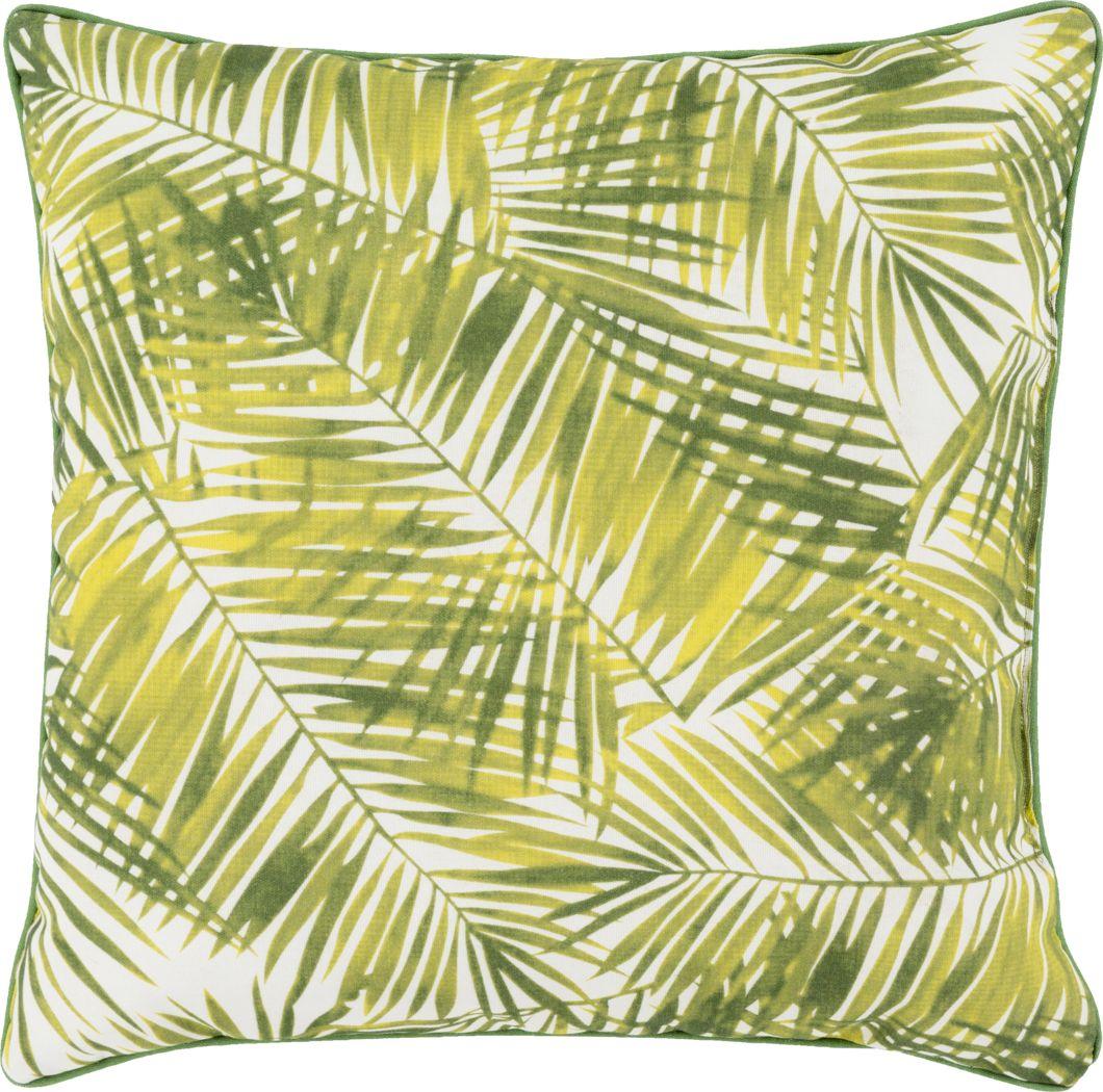 Makani Green Indoor/Outdoor Accent Pillow