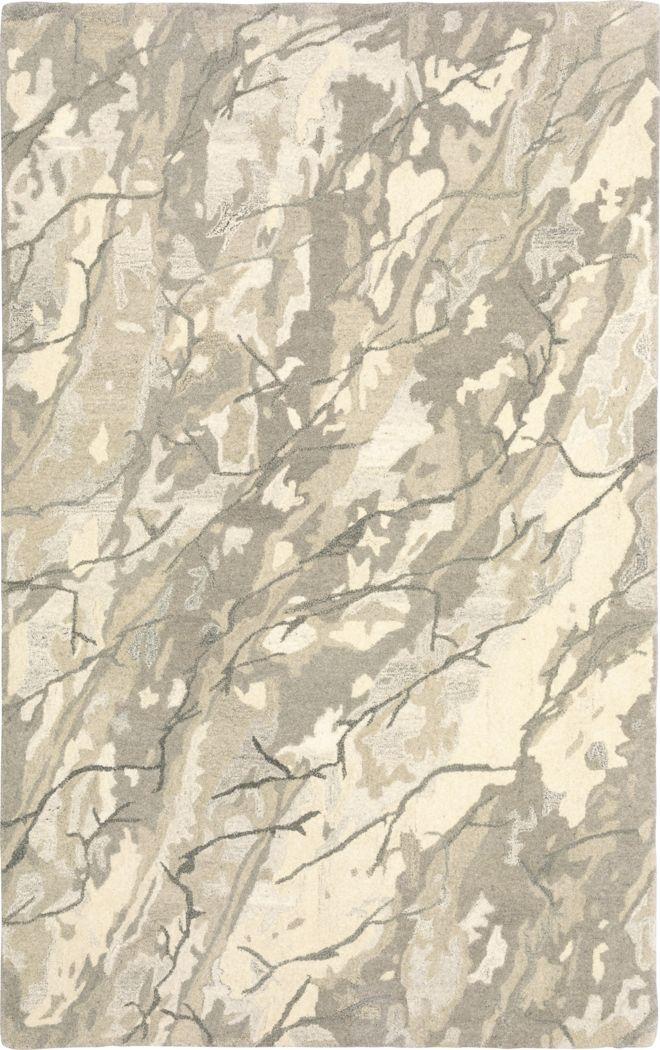 Malaya Beige 5' x 8' Rug