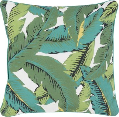Maliana Green Indoor/Outdoor Accent Pillow