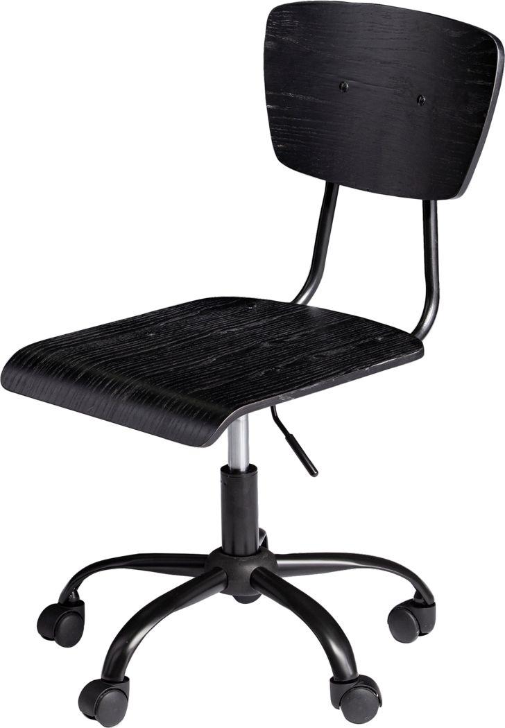 Malibar Black Office Chair