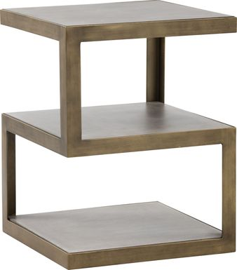 Malik Gray End Table