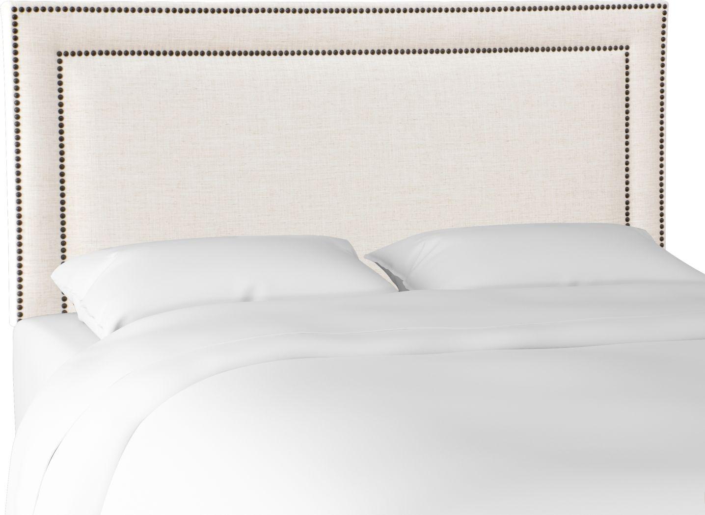 Mallay Linen King Upholstered Headboard