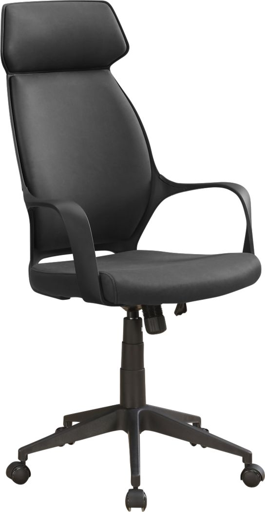 Malmaison Black Desk Chair
