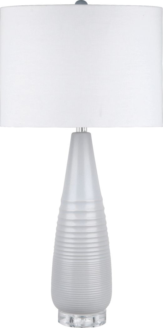 Malstorm Gray Lamp