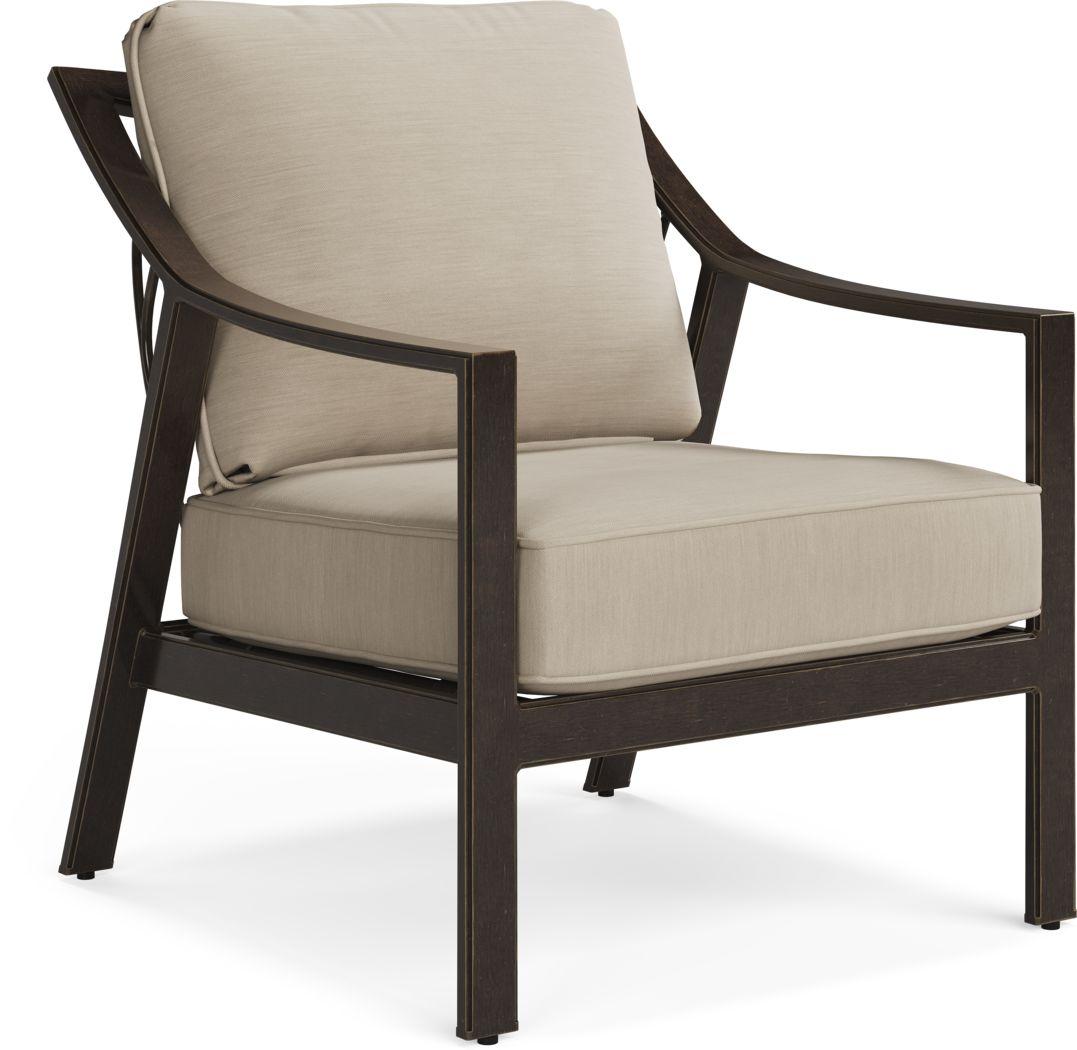 Manchester Hill Antique Bronze Outdoor Club Chair