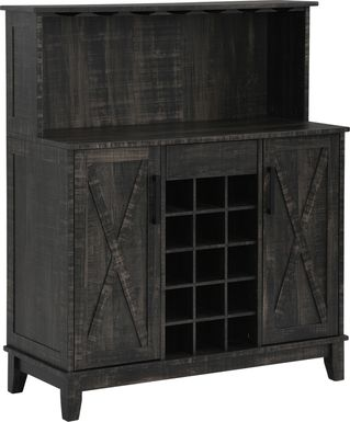 Mankato Charcoal Bar Cabinet