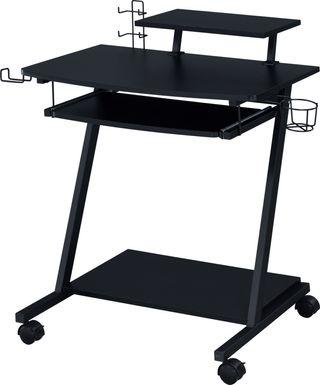 Mansy Black Computer Desk