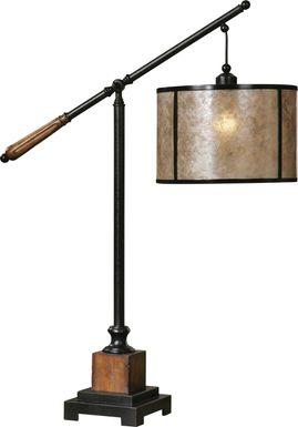 Mapletonington Black Lamp