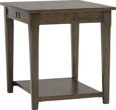 Marah Brown End Table