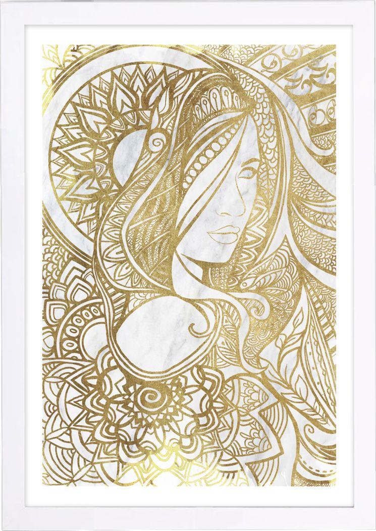 Marah's Radiance Gold Artwork