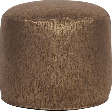 Marbee Brown Pouf