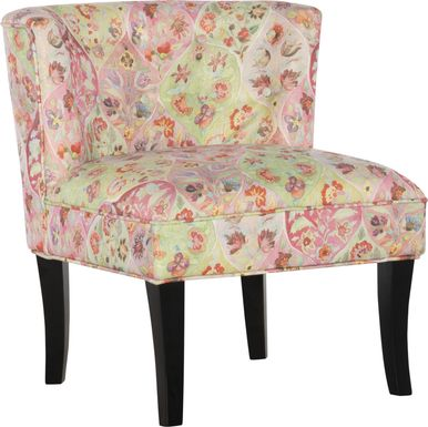 Marcellina Pink Accent Chair
