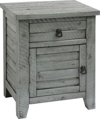 Maribob Gray End Table