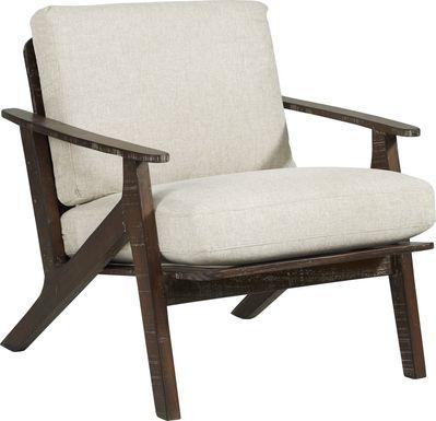 Maritime Marsh Beige Accent Chair