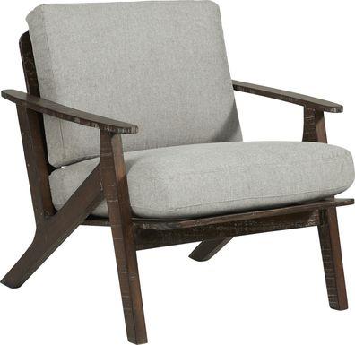 Maritime Marsh Gray Accent Chair
