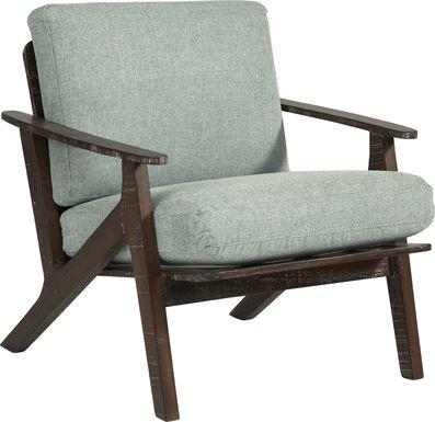 Maritime Marsh Green Accent Chair