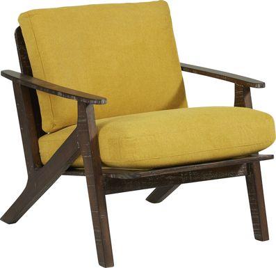 Maritime Marsh Sunflower Accent Chair