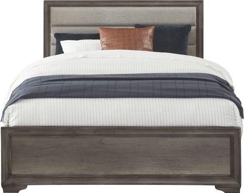 Marlow Gray 3 Pc Queen Panel Bed