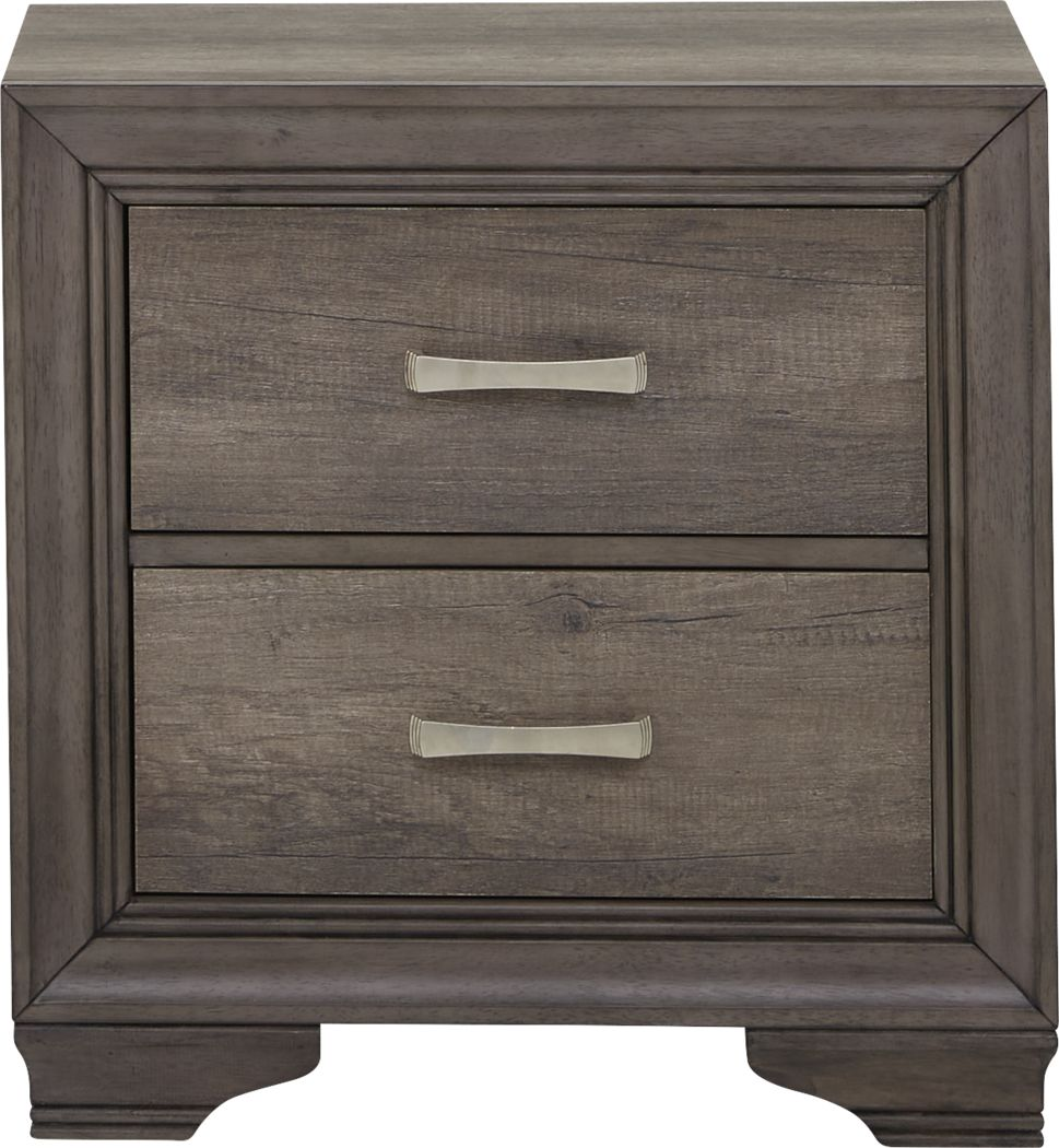 Gray Nightstands Bedside Tables