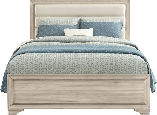 Marlow Natural 3 Pc King Panel Bed