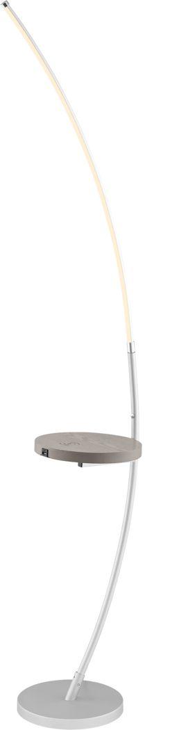 Marona Silver Floor Lamp
