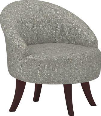 Marsston Gray Accent Swivel Chair