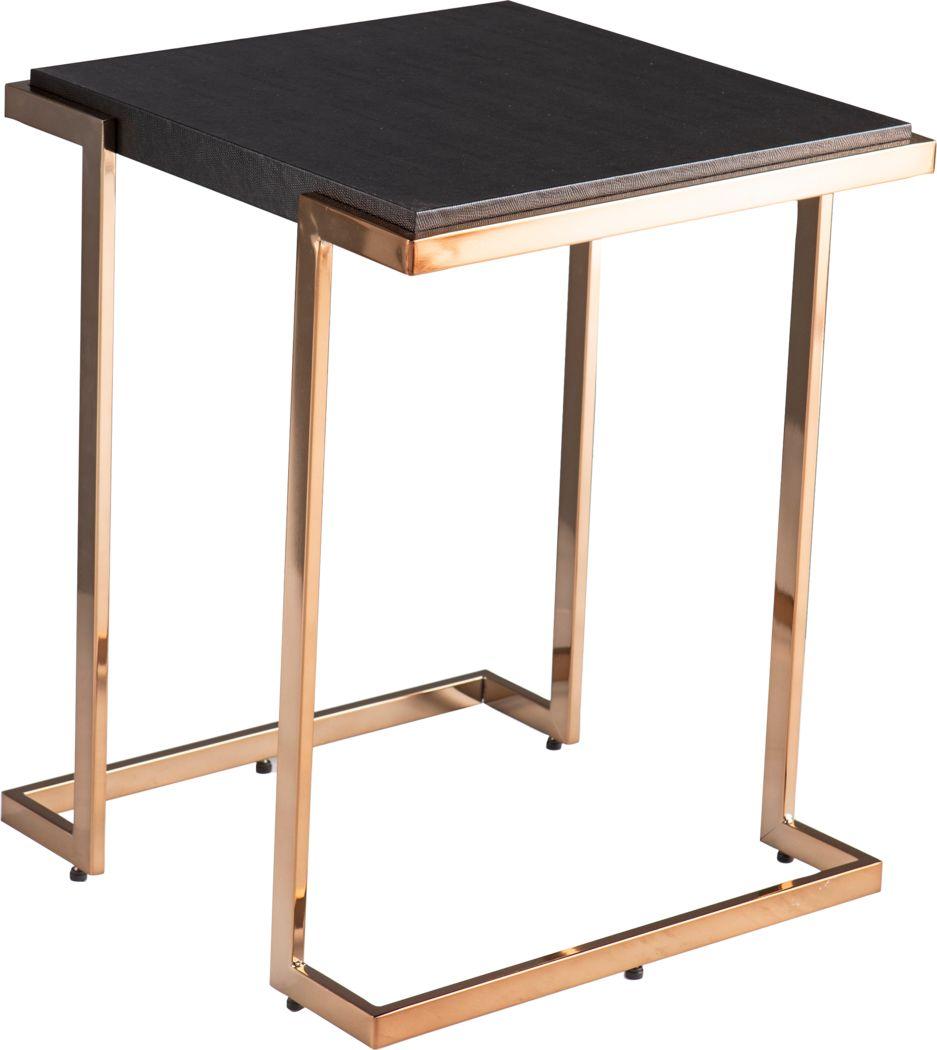 Marybank Black Side Table