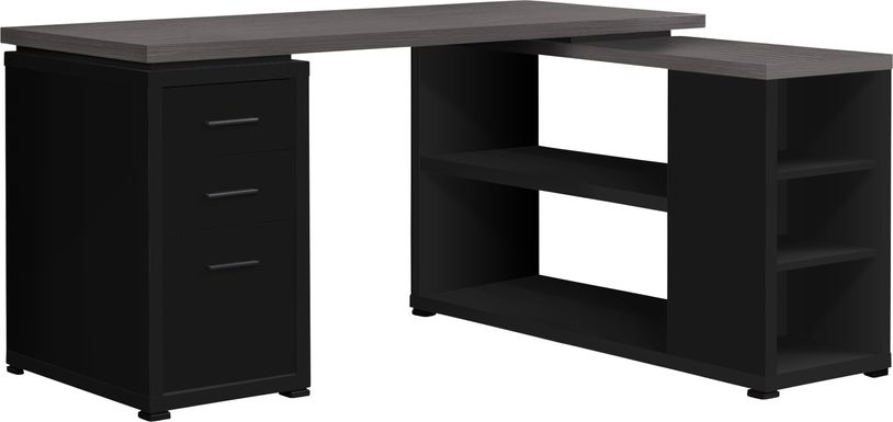 Massillon Black Desk