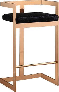 Mattias Black Barstool