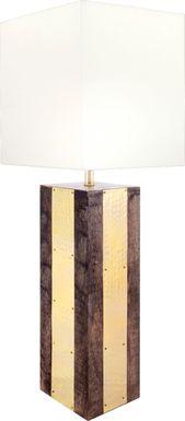 Maudine Gold Lamp
