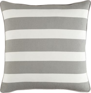 Maury Gray Accent Pillow