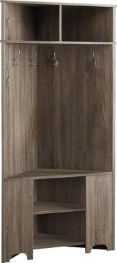 Maxey Taupe Bookcase