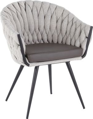 Maxine Lane Cream Accent Chair