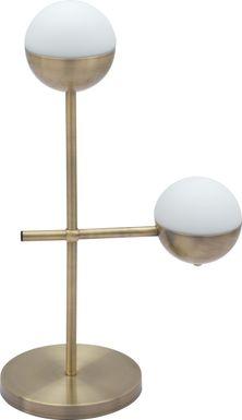 Maxton Lane Bronze Table Lamp