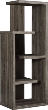 Maybeth Taupe Bookcase