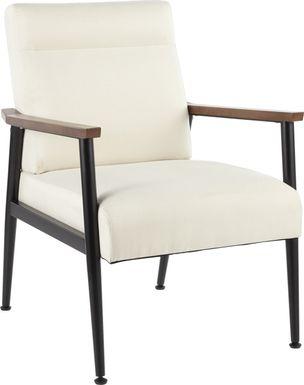 Maye Cream Accent Chair