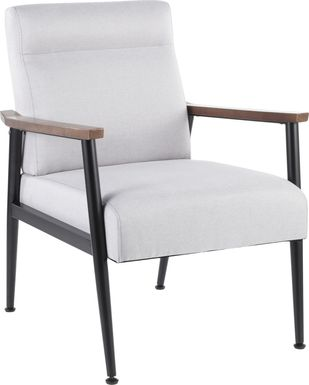 Maye Gray Accent Chair