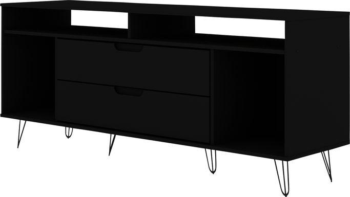 Mcbean Black 63 in. Console