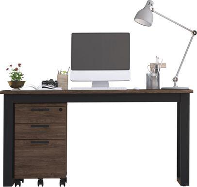 Mckelvey Brown 2 Pc. Office Set
